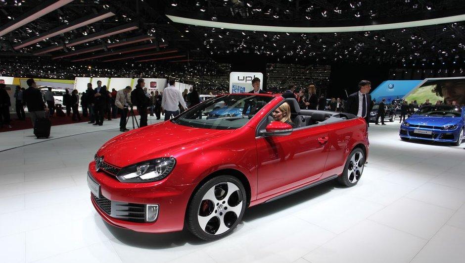 Salon de Genève 2012 : la Volkswagen Golf GTI passe au Cabriolet