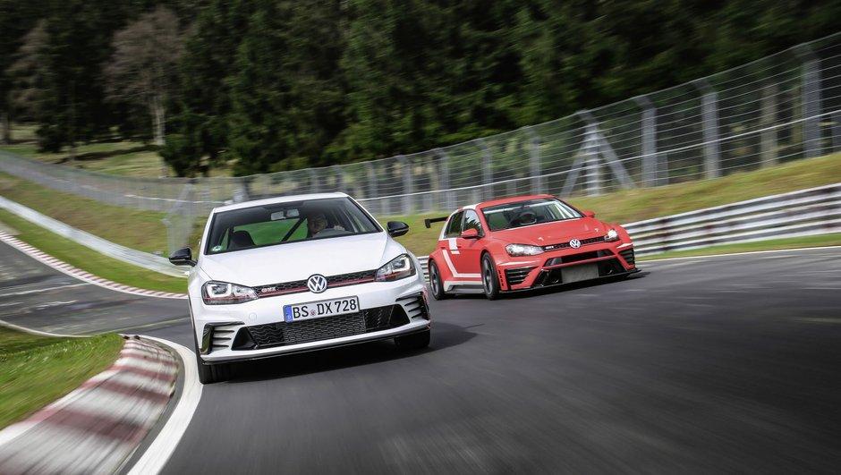 La Volkswagen Golf GTI Clubsport S de 310 ch s'offre un record sur le Nordschleife