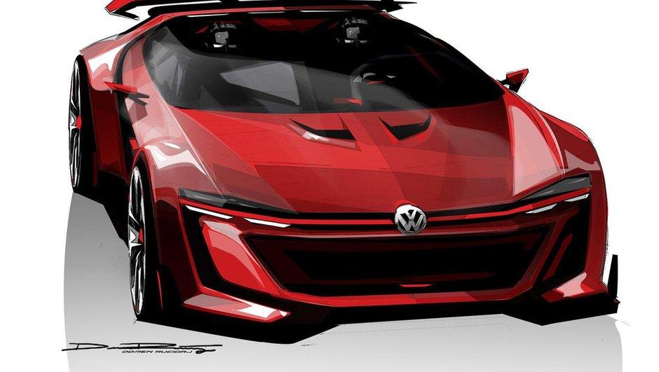 Volkswagen Golf GTI Roadster Vision GT 2014 : 503 chevaux en plein air