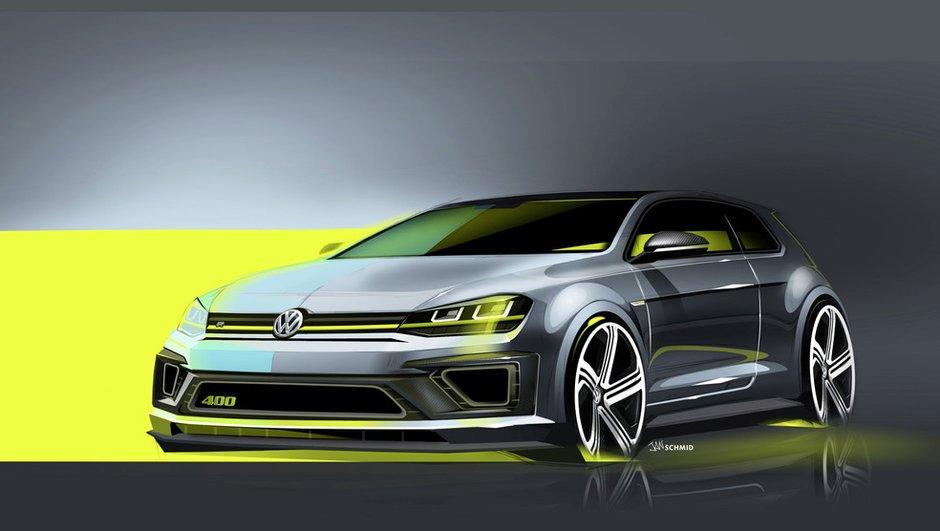 Volkswagen Golf R 400 Concept 2014 : une version de 400 chevaux à venir ?