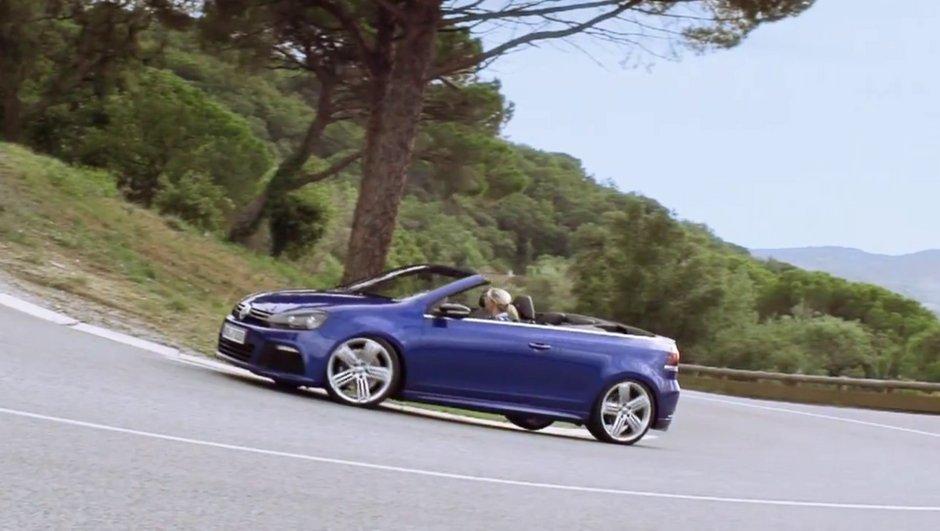Vidéo : Volkswagen Golf R Cabriolet 2013, promotion surprise