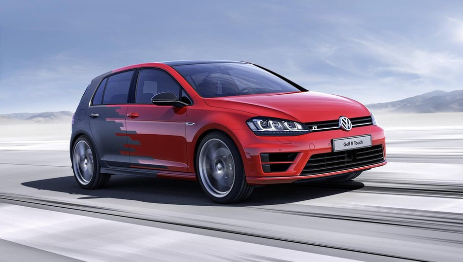 Volkswagen Golf R Touch Concept : Plus qu'une simple vitrine technologique !
