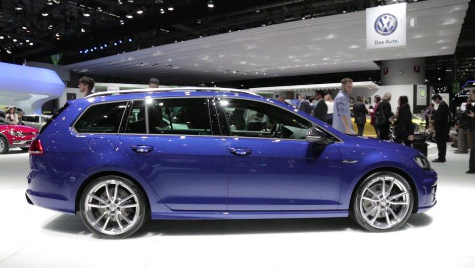 Salon de Genève 2015: Volkswagen Golf R SW, le break compact protéiné
