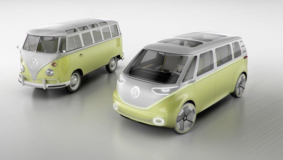 Salon de Detroit 2017 : Volkswagen (re)ressuscite son Combi avec le concept I.D. Buzz