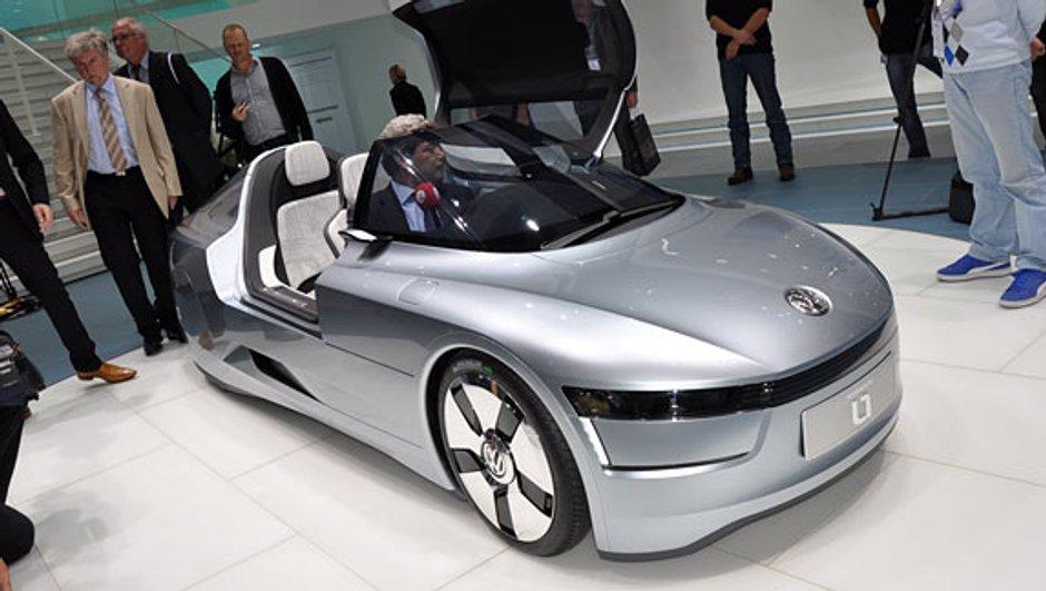 Salon de Francfort 2009 : Volkswagen L1 Concept