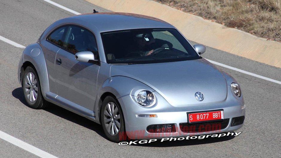 Volkswagen New Beetle : la nouvelle version présentée dans un mois !