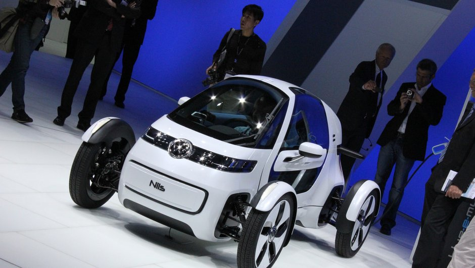 Salon de Francfort 2011 : Volkswagen NILS Concept, drôle d'engin
