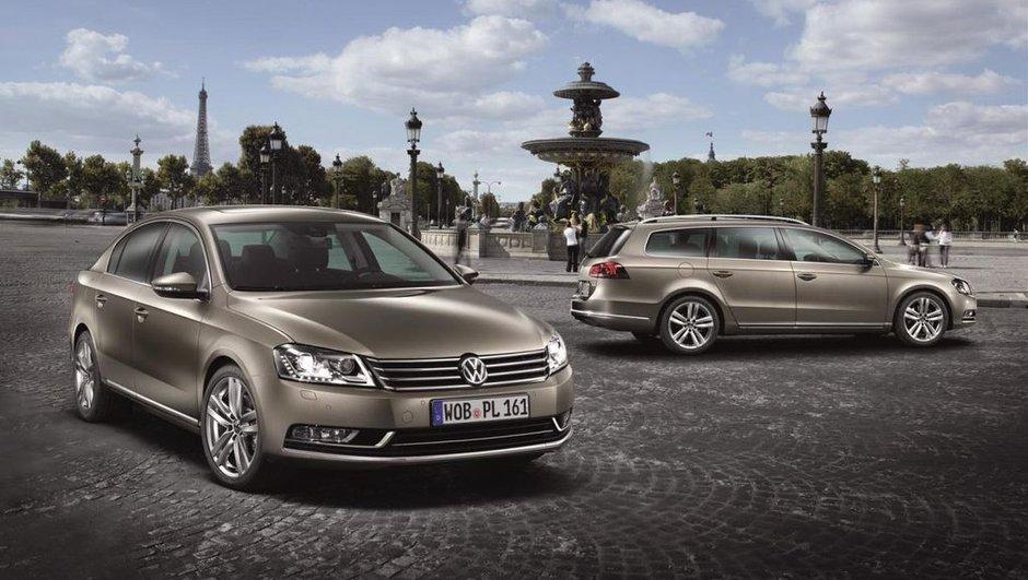 Mondial de l'Auto 2010 : la Volkswagen Passat se refait une beauté