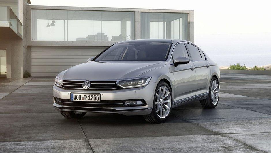 """Nouvelle Volkswagen Passat 2014 : les photos, infos et vidéo de la berline """"business"""""""