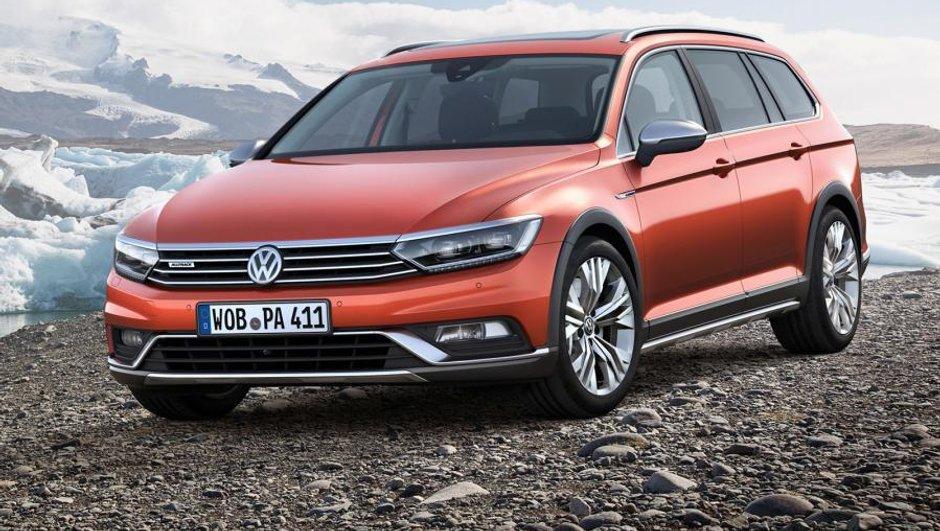 Volkswagen Passat Alltrack 2015 : un break tout-terrain pour Genève !