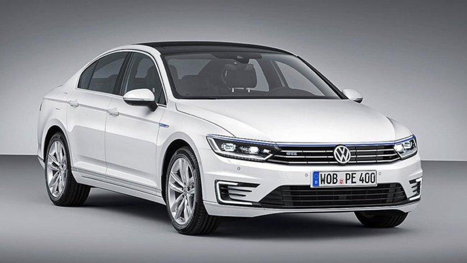 Volkswagen Passat GTE 2015 : la grande allemande passe à l'hybride rechargeable