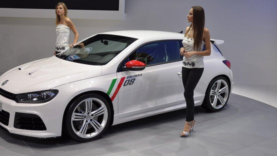 Vu à Bologne: Volkswagen Scirocco Studie R