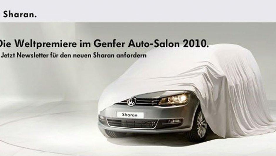 Salon de Genève 2010 : Nouveau Volkswagen Sharan