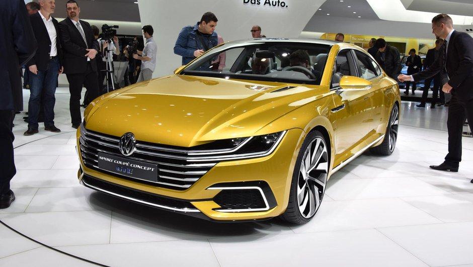 Salon de Genève 2015 : Volkswagen Sport Coupé GTE, la future CC en filigrane (+ vidéo)