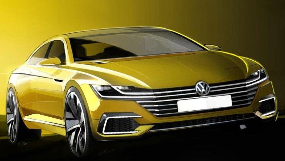 Volkswagen Sport Coupé GTE 2015 : premiers croquis du concept avant Genève !