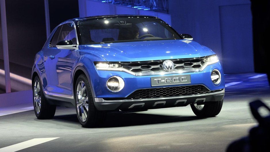 Salon de Genève 2014 : le Volkswagen T-ROC Concept étudie les crossovers compacts