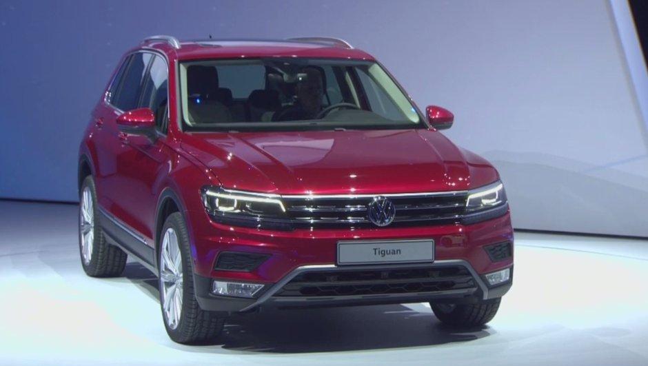 Nouveau Volkswagen Tiguan 2016: vidéo, photos et infos officielles