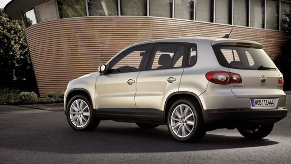 Volkswagen Tiguan Sport and Style : la version deux roues motrices