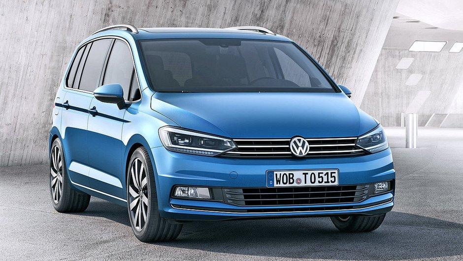 Volkswagen Touran 2015 : premières infos et photos officielles avant Genève