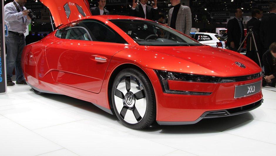 Salon de Genève 2013 - Live : Volkswagen XL1, la voiture à moins d'un litre !