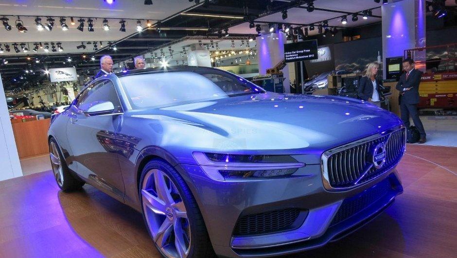 Salon de Francfort 2013 : Volvo Concept Coupé, le style du futur