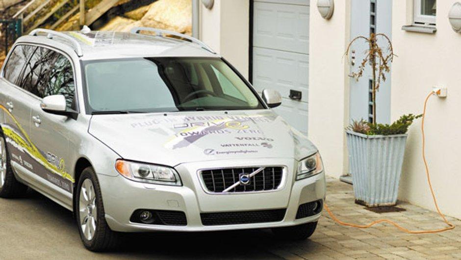 Volvo Plug-in Hybrid: un hybride rechargeable à partir de 2012