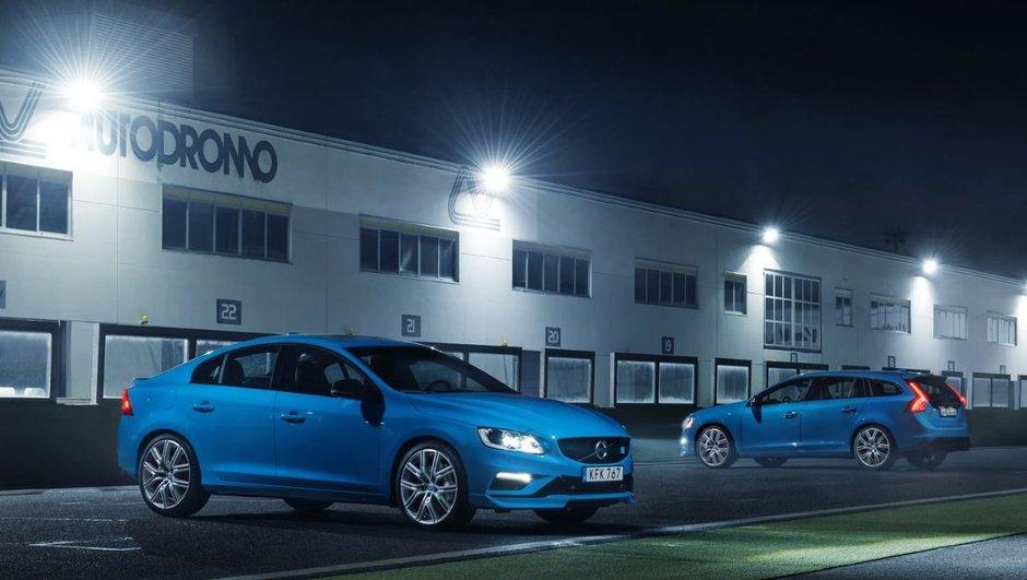 Les Volvo S60 et V60 Polestar s'offrent 367 ch !