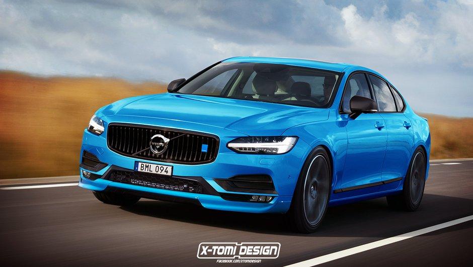 Design : Et si la Volvo S90 Polestar ressemblait à ça ?