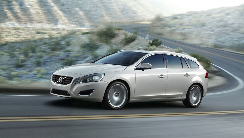 Volvo V60 : le break S60 en photos officielles
