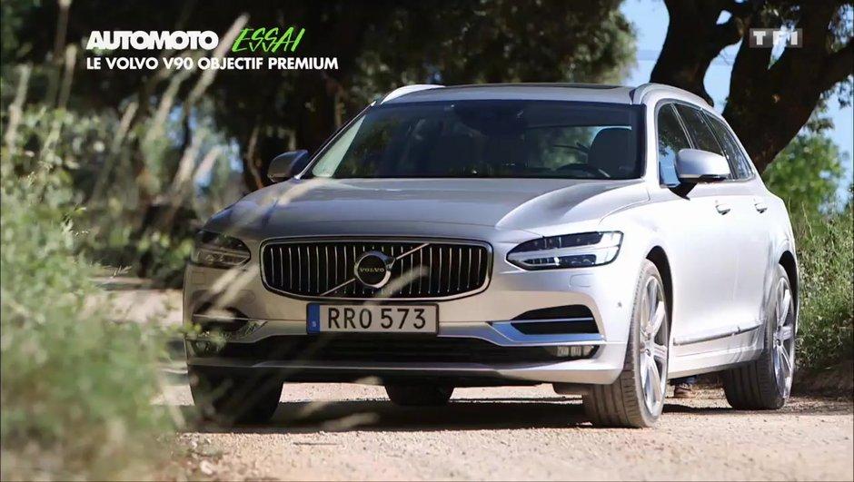 Essais : le break Volvo V90 meilleur que ses concurrents Audi et BMW ?