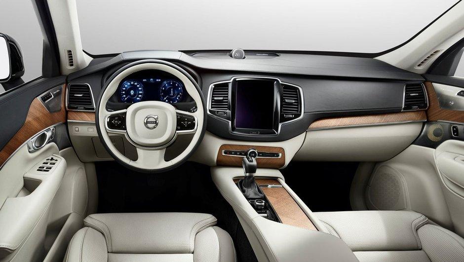 Nouveau Volvo XC90 2014 : toutes les photos de l'intérieur
