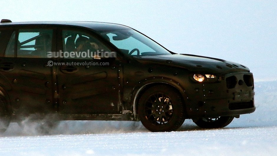 Futur Volvo XC90 2015 : premières photos scoop