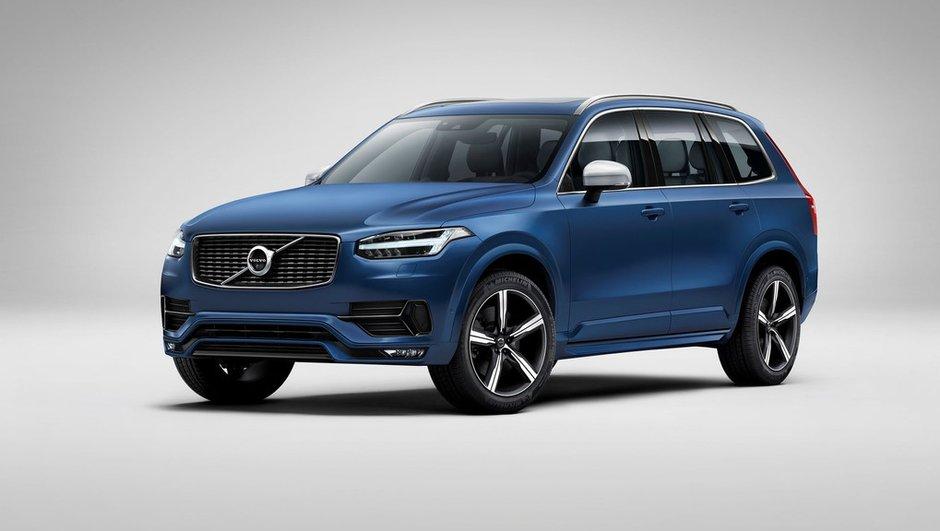 Nouveau Volvo XC90 R-Design 2015 : le SUV suédois en mode sport