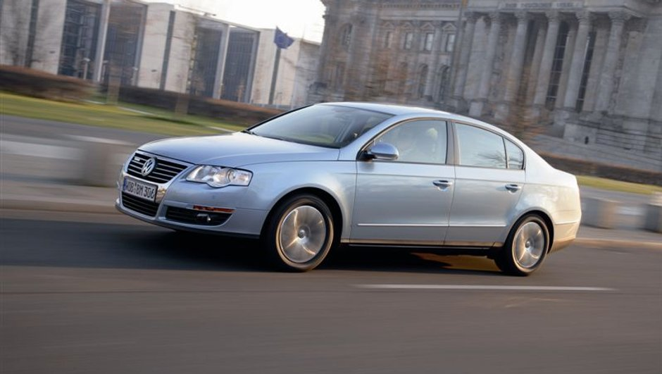 "La Volkswagen Passat BlueMotion se ""downsize"""