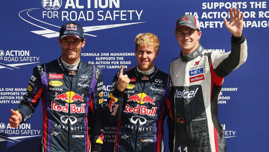 F1 - GP d'Italie 2013 : la grille de départ