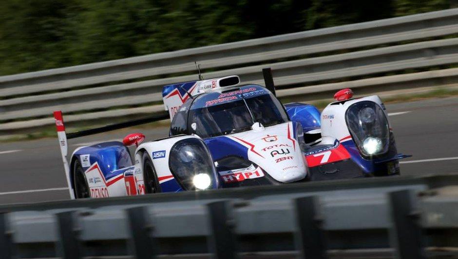 24h du Mans 2014 : Toyota poursuivi par deux Audi à la tombée de la nuit
