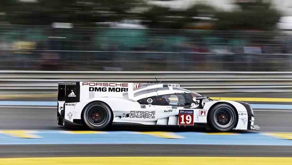 24 h du Mans 2015 : la Porsche n°19 mène au petit matin