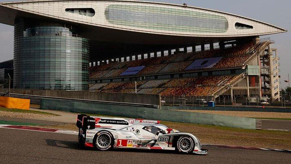 WEC - 6h de Shanghai 2013: Audi empoche une 6e victoire et le titre pilote