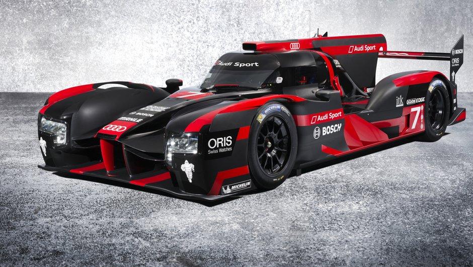 Endurance 2016 : Audi présente sa nouvelle et spectaculaire R18