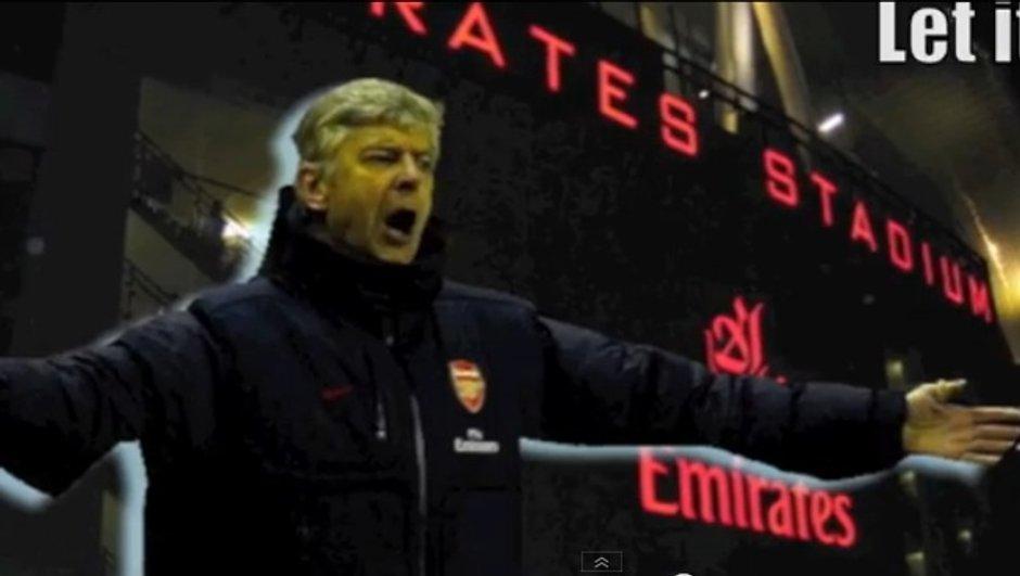 VIDEO Arsenal : La Reine des neiges version Wenger !