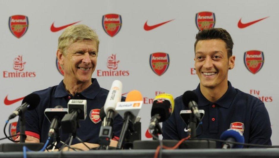 Arsenal : Özil répond à Pérez et encense Wenger