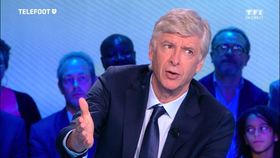 Arsene Wenger dément être en contact avec le PSG