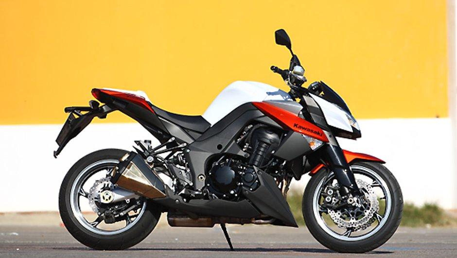 Kawasaki ZR1000 : campagne de rappel des modèles 2010