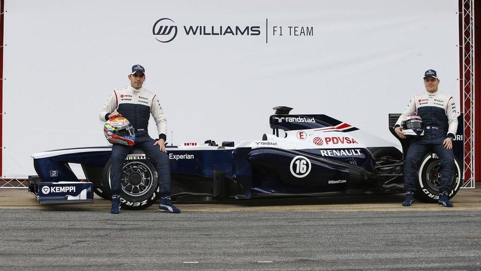 F1 2013 : la Williams FW35 arrive, dernière du lot