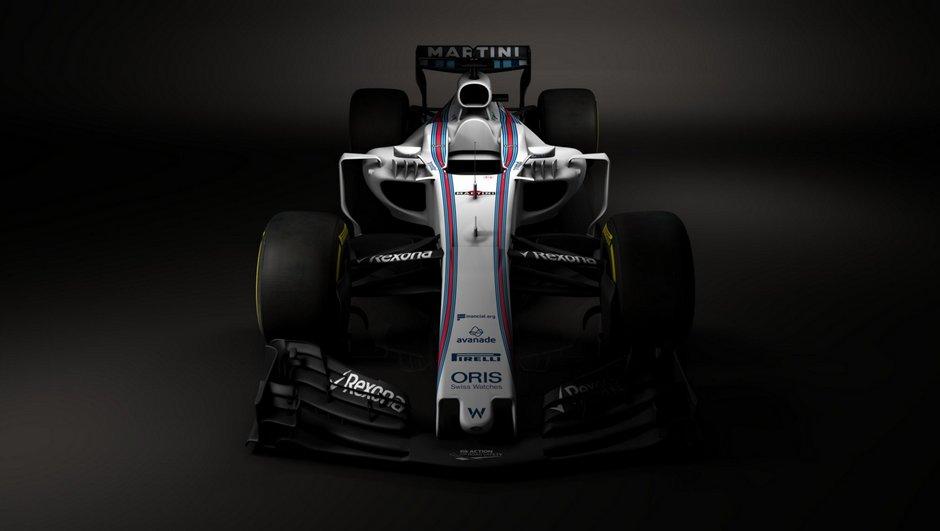 F1 : Williams dévoile la FW40, sa monoplace pour la saison 2017