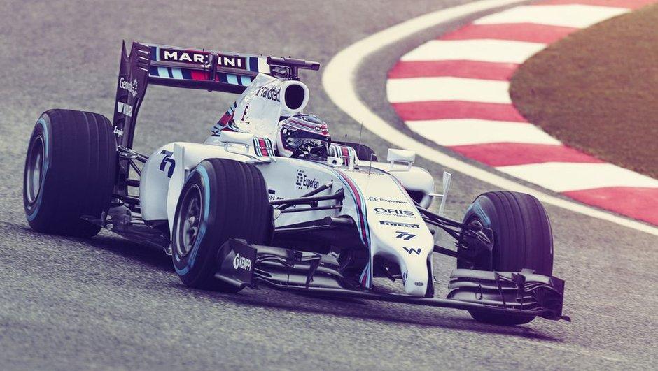 F1 2014 : Martini s'affiche sur la Williams FW36