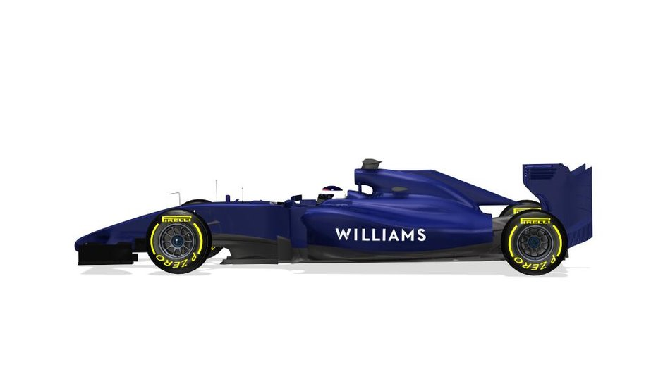F1 2014 : premières images de la Williams FW36