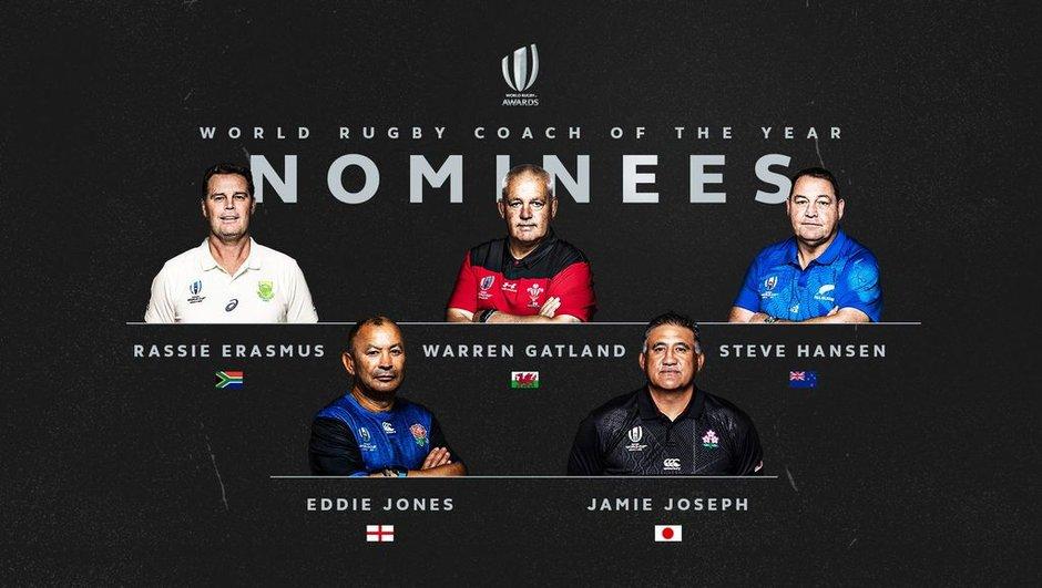 World Rugby Awards - Equipe et entraîneur de l'année : les prétendants dévoilés