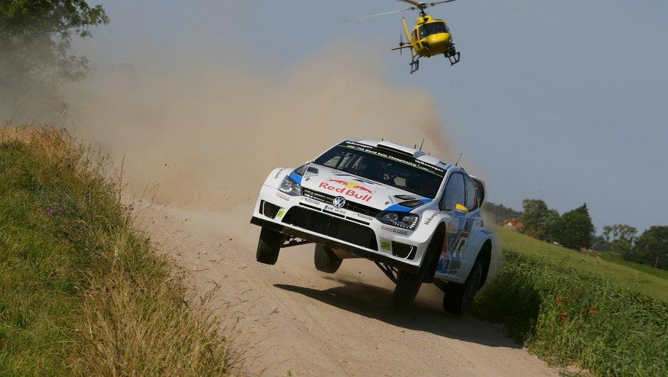 WRC 2014 - Rallye de Pologne : Mikkelsen leader à la mi-journée
