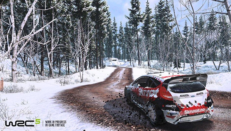 Jeu vidéo : nouveau trailer du WRC 5